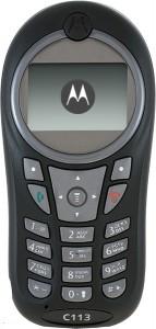 Motorola C113 Инструкция Пользователя - фото 7